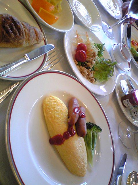 ラフォーレ中軽井沢の朝食