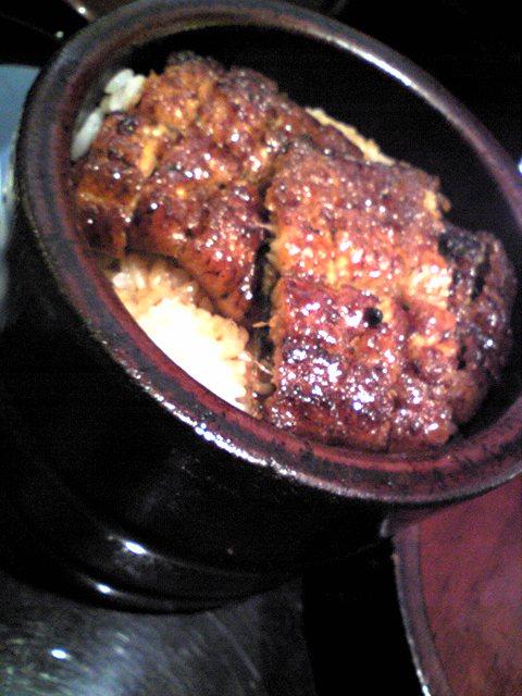 名古屋で鰻を食べる